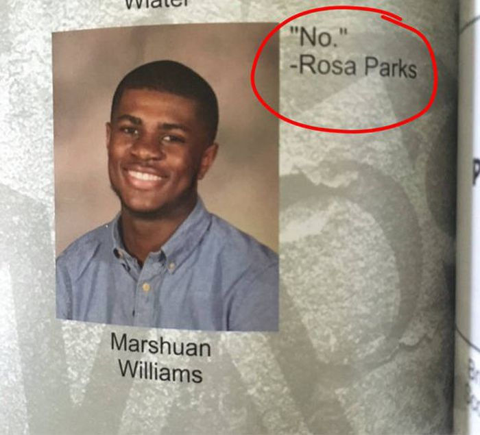 A Hilarious Collection Of All The Best 2016 Yearbook Quotes (27 pics)