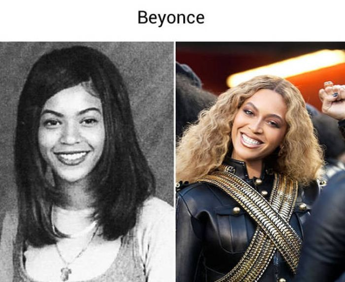 Old School Photos Of Popular Celebrities Before They Made It Big (28 pics)