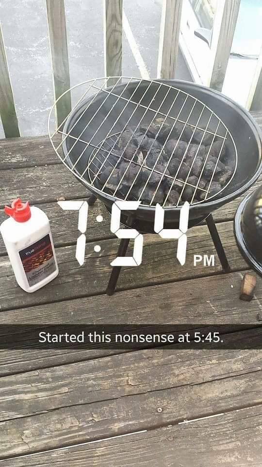 Girl Grills For The First Time And Shares The Experience On Snapchat (15 pics)