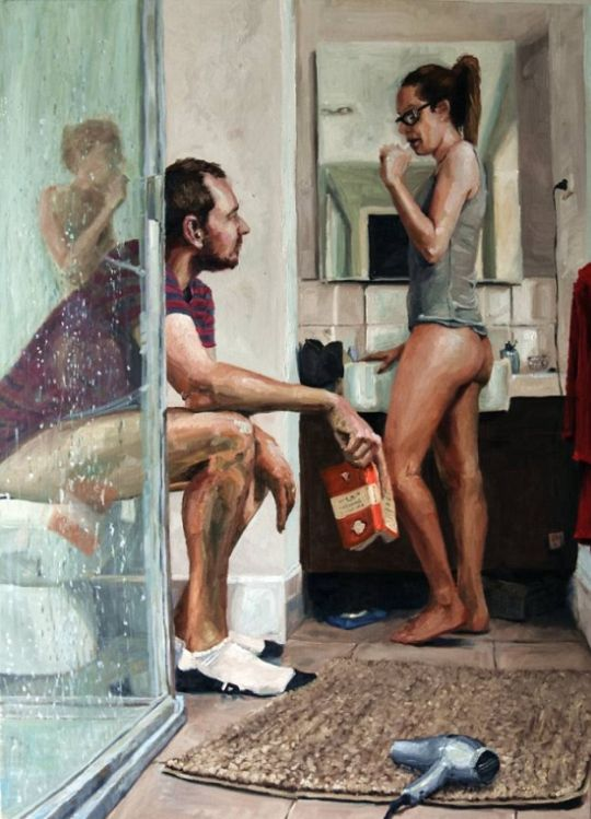 Artist Perfectly Sums Up Marriage With One Simple Painting (2 pics)