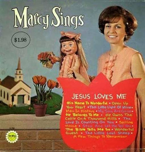 Ventriloquist Album Covers That Will Terrify You (18 pics)