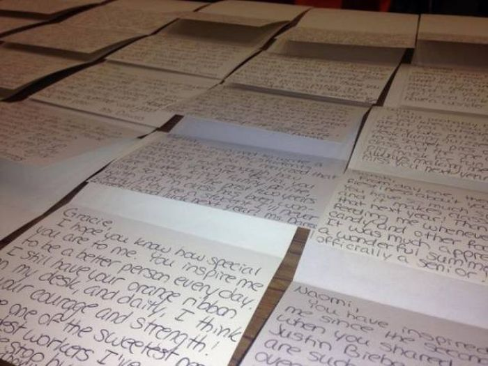 Awesome Teacher Encourages Her Students With Heartfelt Letters (3 pics)