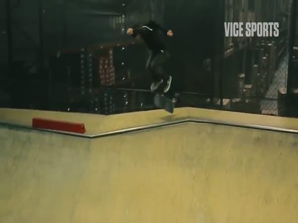 Stunts On A Skateboard