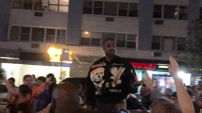 Kanye West Causes Chaos In The Streets Of New York City (11 pics)