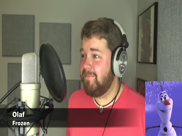 Brian Hull Covers Adele Hello Disney/Pixar Style