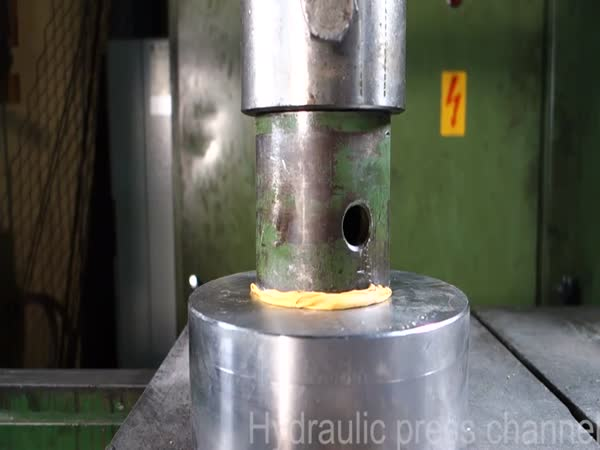 Broke A Hydraulic Press