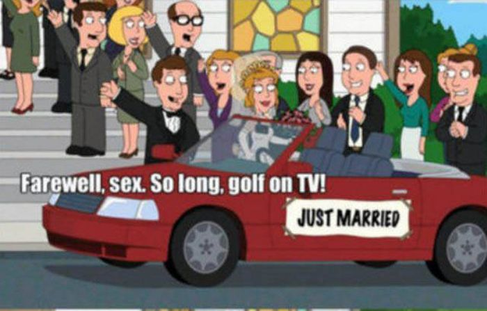Family Guy Perfectly Explains Everything Men Give Up When They Get Married (7 pics)
