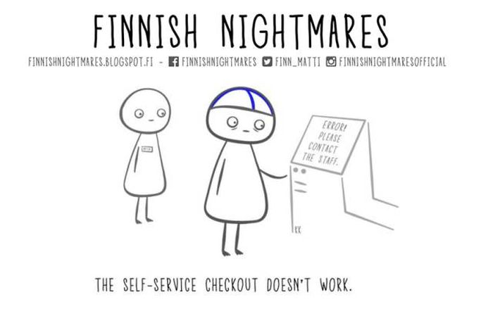 Funny Comics About Finnish Nightmares That Even Non-Finns Will Laugh At (23 pics)
