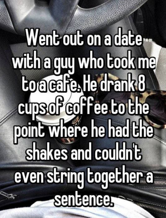 People Share Awkward First Date Horror Stories (17 pics)