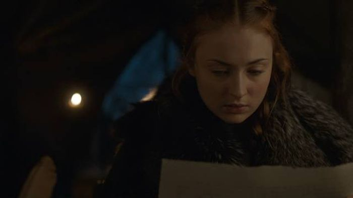A Game Of Thrones Fan Has Deciphered Sansa Stark's Letter (6 pics)