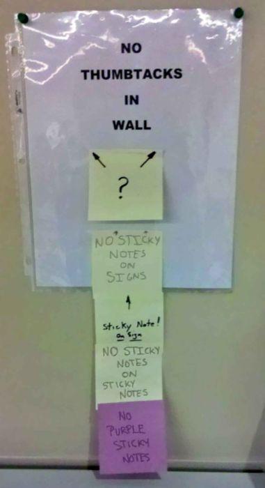 Hilarious Notes Help Make Work A Lot More Enjoyable (26 pics)