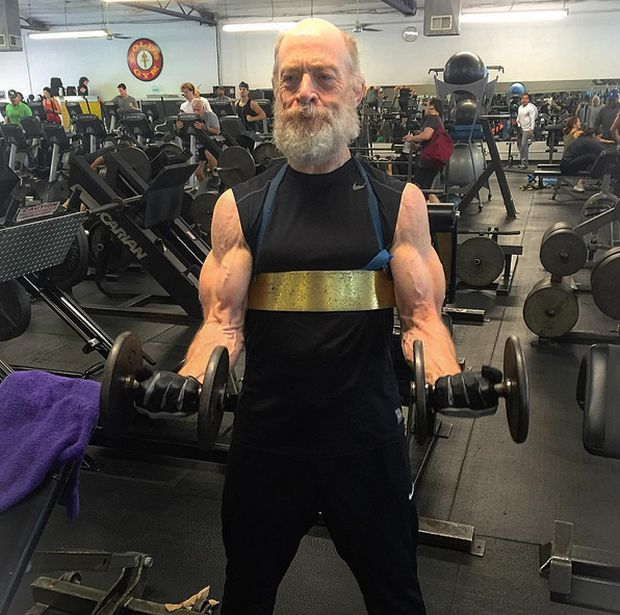 J.K. Simmons Is Getting Shredded For Justice League (4 pics)
