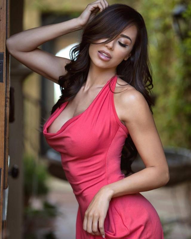 Hot girls in tight dress