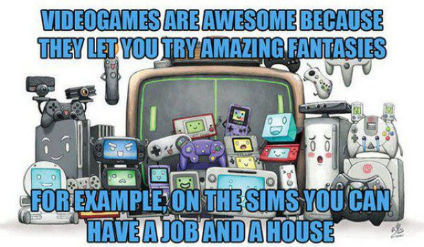 It Just Feels So Damn Good To Be A Gamer (19 pics)