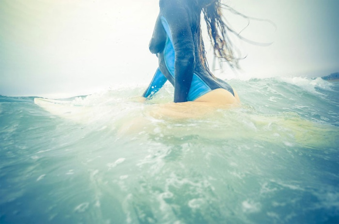 Awesome Body Art For Babes Who Want To Surf (12 pics)