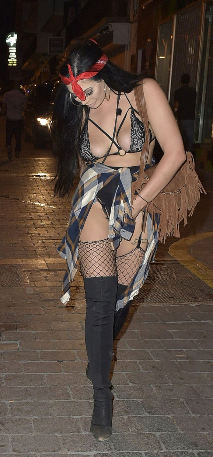 Chloe Ferry And Marnie Simpson Hit The Streets In Revealing Outfits (17 pics)