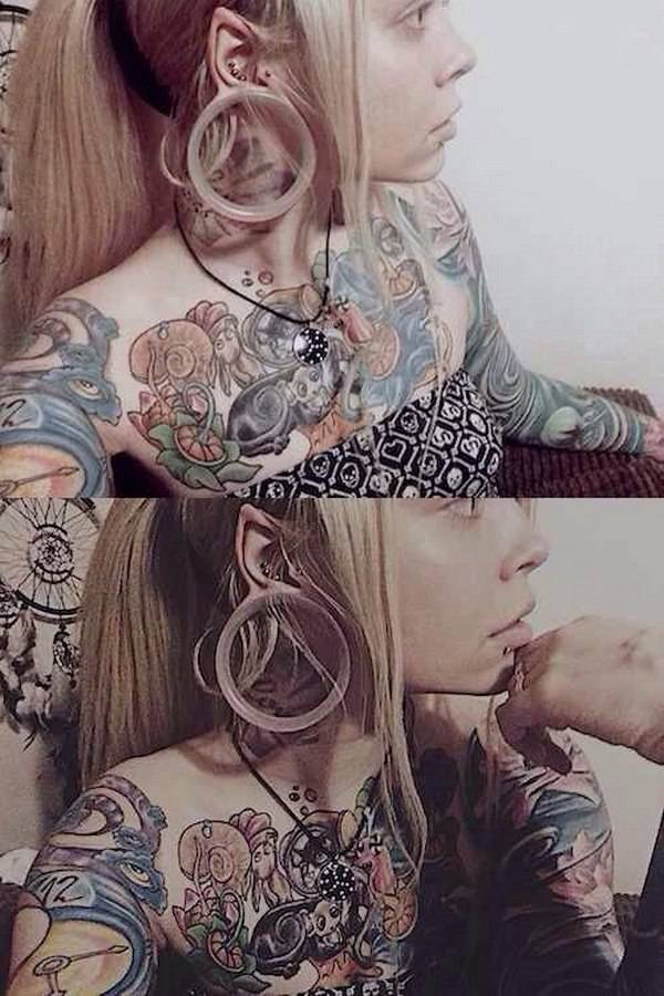 People Who Made Extreme Modifications To Their Own Bodies (46 pics)