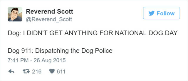 What Dogs Would Say If Dogs Could Call 911 (10 pics + 1 gif)