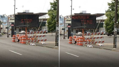 Hacked Road Signs With Hilarious Messages (17 pics)