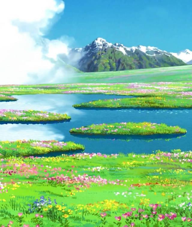 Amazing Smartphone Wallpaper From Studio Ghibli (55 pics)