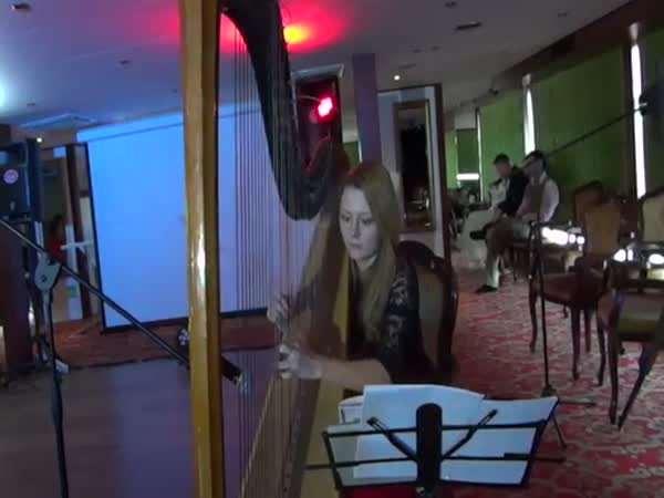 Yesterday Beatles Harp Cover