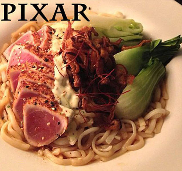 Here's What Google, Pixar And Apple Employees Eat For Lunch (43 pics)