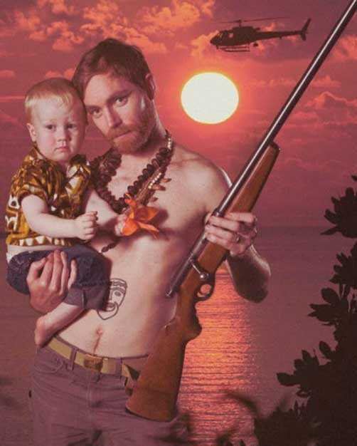 Hilariously Awkward Dad Photos In Honor Of Father's Day (24 pics)