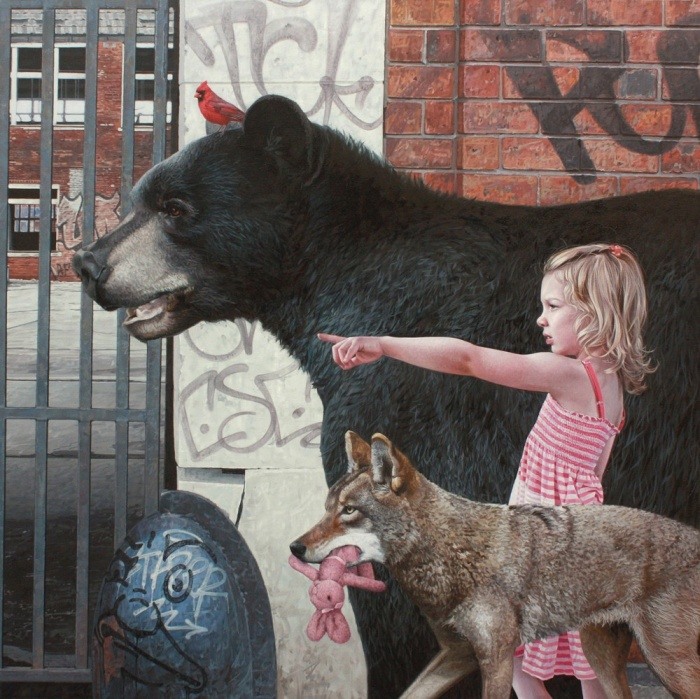 Realistic Paintings Of Animals That Could Easily Fool Anyone (14 pics)