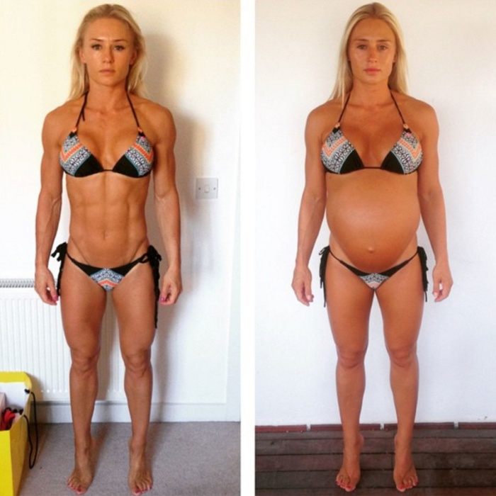 It Only Took 11 Months For This Model To Get Back Into Shape After Giving Birth (10 pics)
