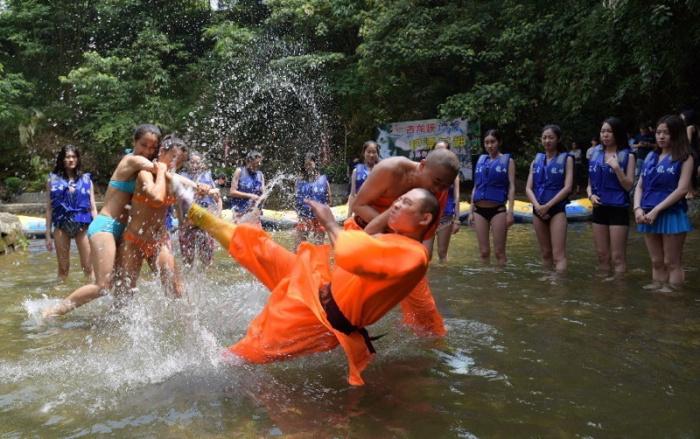 Chinese Rescuers Train Hard In Bikinis (9 pics)