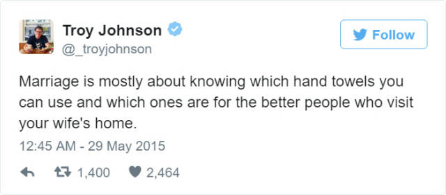 Tweets About Marriage That Tell It Like It Is (45 pics)
