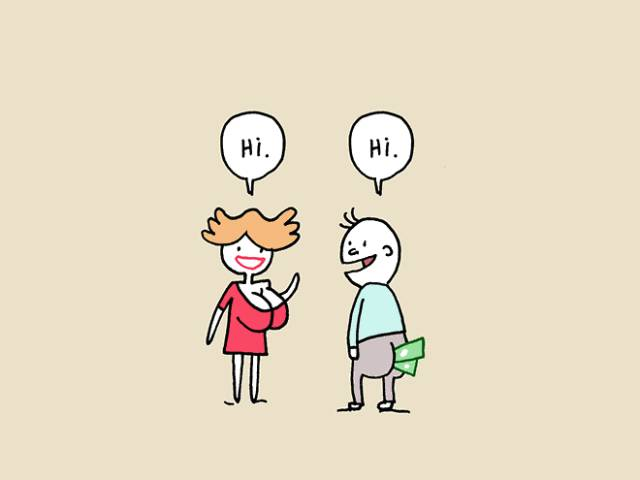 Cynical Comic Explains How Love At First Sight Really Works (4 pics)