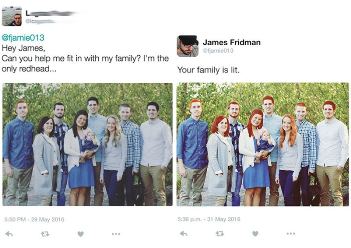 Why You Shouldn't Ask This Man To Edit Your Pictures (12 pics)