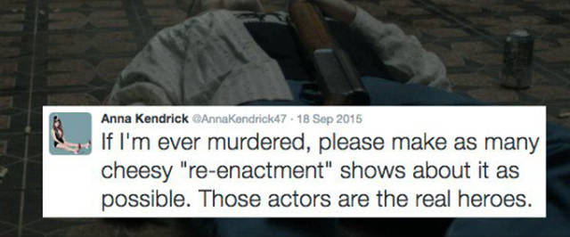 Anna Kendrick's Twitter Page Is A Hilarious Source Of Entertainment (15 pics)