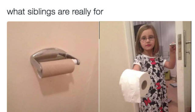 Life With Siblings Can Be Challenging (25 pics)