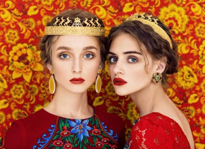 Slavic Girls Pose For Stunning Portraits (11 pics)
