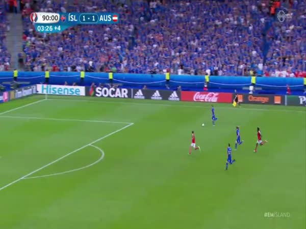 Iceland Goal Celebration