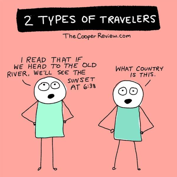 There Are Only Two Types Of Travelers In This World, Which One Are You? (10 pics)