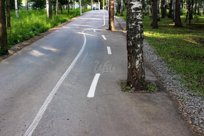 Brutal Looking Bike Path From Russia (6 pics)
