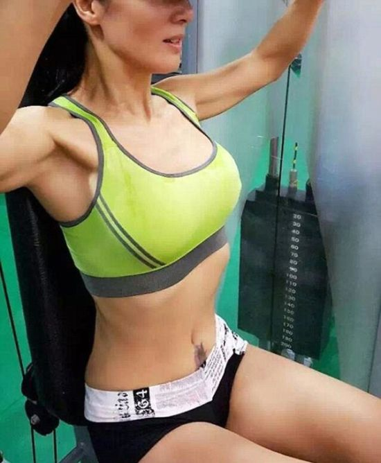 You're Not Going To Believe How Old This Sexy Fitness Fanatic Is (10 pics)
