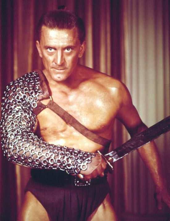 Kirk Douglas Is One Of The Last Surviving Stars From Hollywood's Golden Age (4 pics)
