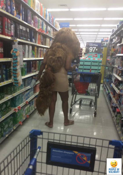 People of Walmart. Part 30 (37 pics)