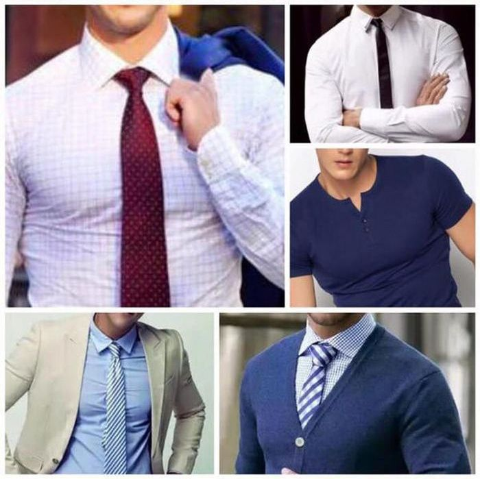 The Perfect Shirt For Guys Who Don't Want To Work Out (5 pics)