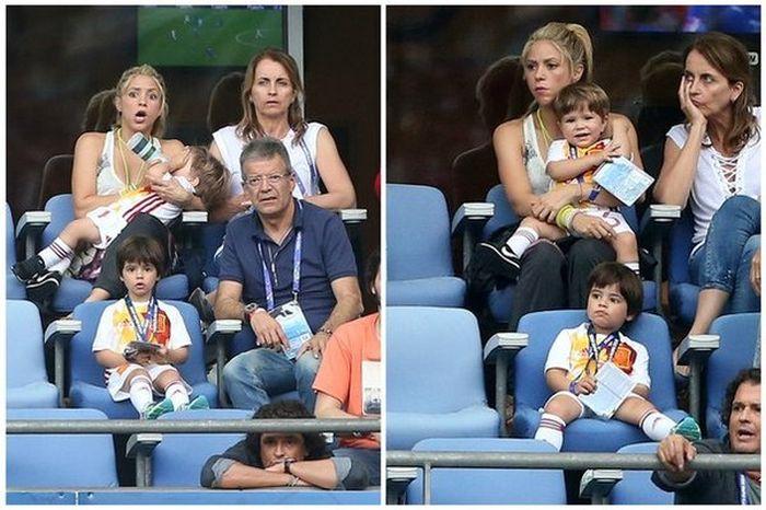 Shakira Reacts To Her Husband's Loss At Euro 2016 (2 pics)