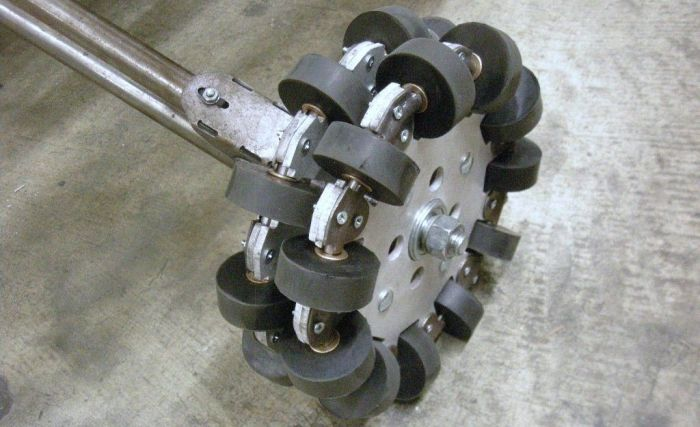 This Revolutionary Wheel Can Make Your Car Go Sideways (3 pics + video)