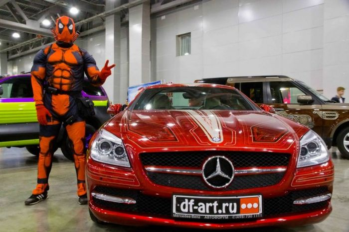 Impressive Automobiles From Moscow Tuning Show 2016 (40 pics)