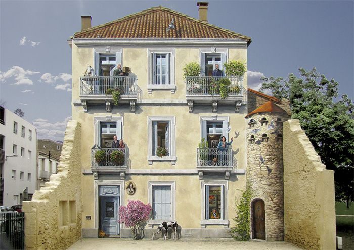 French Artist Turns City Walls Into Unforgettable Art (31 pics)