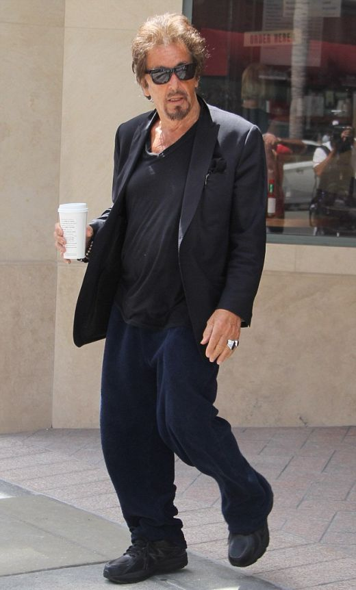 Al Pacino Is Looking A Little Different Nowadays (4 pics)