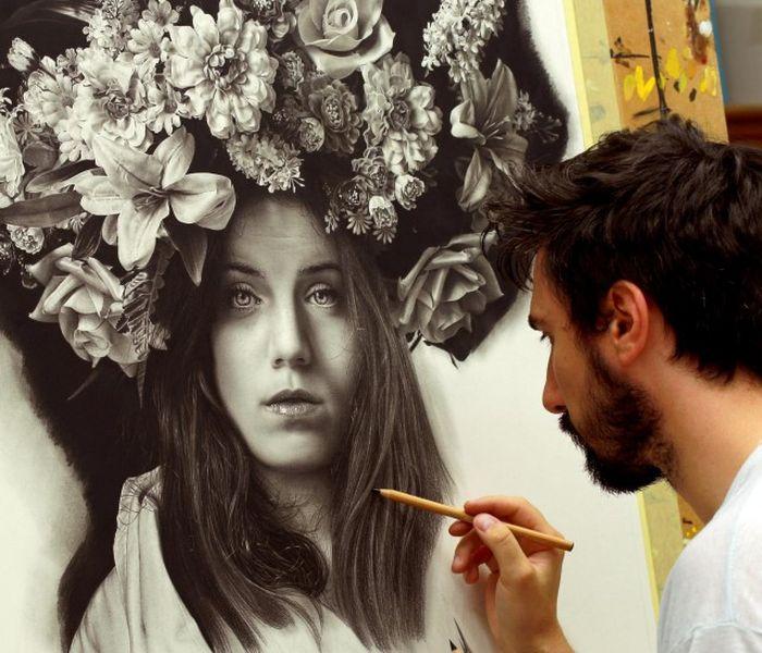 Emanuele Dascanio's Hyperrealistic Art Is Incredible (26 pics)