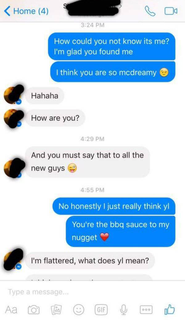 Mcdonald's Employee Gets Trolled While Looking For A Coworker On Facebook (7 pics)